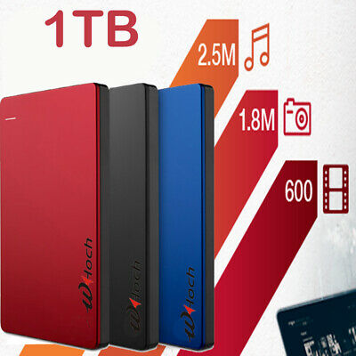 EXTERNAL HARD DRIVE USB 3.0 PC MAC Xbox One PS4 80GB 160GB 250GB 500GB 750GB 1TB
