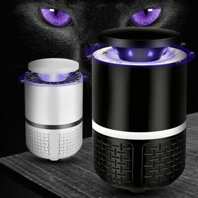 USB Eléctrico Fly Bug Zapper Mosquito Insect Killer LED luz Trampa Lámpara