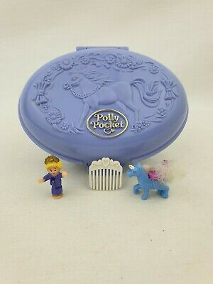polly pocket Unicorn meadow 100 % Complete 1995 By Bluebird toys Excellent