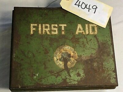 First Aid Kit Vintage American Telephone And Telegraph Co., Case, Booklet (4049)