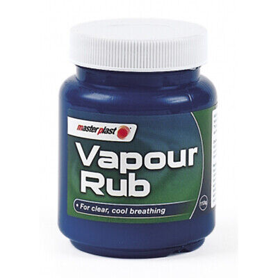 Masterplast Vapour Rub Congestion Relief Chest Rub Menthol Eucalyptus