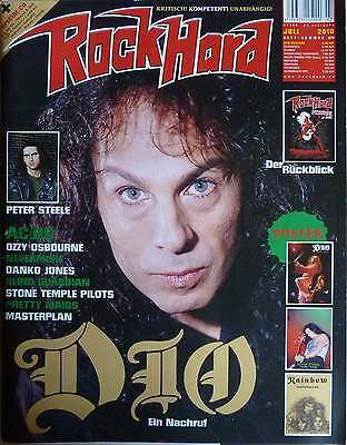 Rock Hard 07 2010 AC/DC Ronnie James Dio Ozzy Osbourne Blind Guardian Pretty Mai