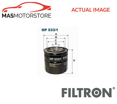 Op533/1 Filtron Engine Oil Filter I New Oe Replacement