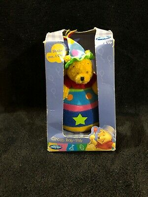 Unopened Disney winnie the pooh circus roly poly