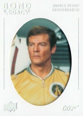 007 James Bond Collection (2019) - Bond Legacy Chase Card Bl-38 (Tier 3)