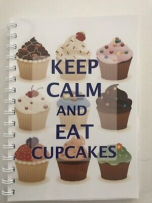 2019-2020 financial year diary 'keep Calm And Eat Cupcakes' A5