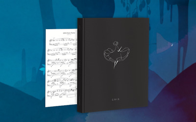 GRIS Hardcover Artbook Art Book 176 Pages +  Piano Theme Music Sheet Berlinist
