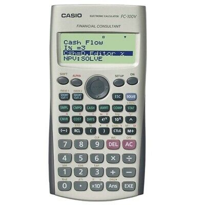 FC100V Financial Calculator