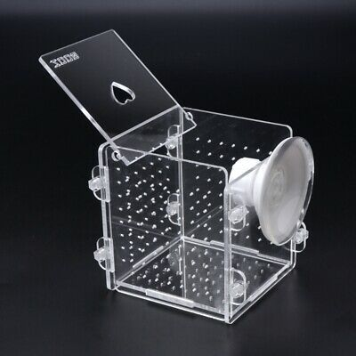 Aquarium Fish Breeding Isolation Box Fish Tank Incubator For Baby Fish Breeder