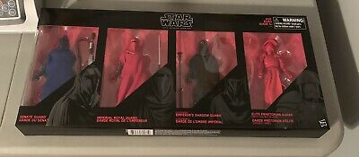 Star Wars The Black Series 4-Pack Set Guard Action Figure