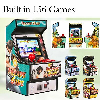 16Bit Retro Arcade Classic Game Console Built in 156 Video Games Joystick Player