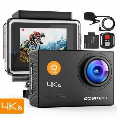 APEMAN A79 Action Cam 4K WiFi 16MP HD Unterwasser 40m Wasserdicht Kamera