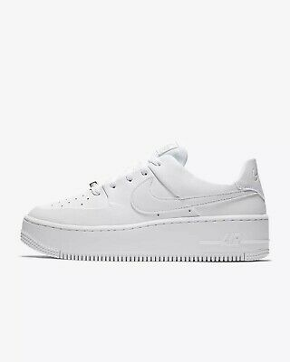 NIKE WMNS AIR Force 1 Upstep Lux 898421 401 Size 2.5 UK