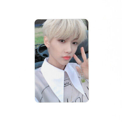 [STRAY KIDS]Cle 2:Yellow Wood/Side Effects/Official Photocard/Outdoor-FELIX