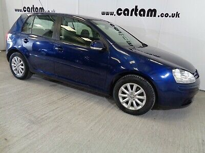 2008 08reg VW Golf 1.9 TDi Match FSH Dr Owner Cruise Alloys Air-Con HPi Clear