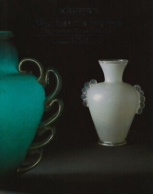 Venetian Glass 1910-1960 An Important Private Collection Auction Catalogue