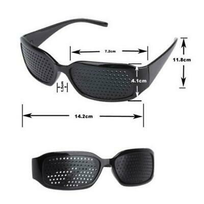 Unisex Eyes Correction Exercise Eyesight Vision Care Improvement Pinhole Glasses