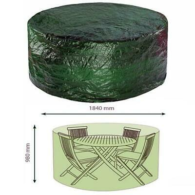 Faboer Heavy Duty Medium Round Garden Patio Table Chair Set Furniture Cover New