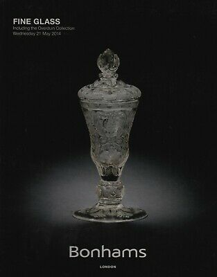 FINE GLASS including THE OVERDUIN COLLECTION AUCTION CATALOGUE BONHAMS LONDON