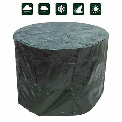 Heavy Duty Small Round Waterproof Garden Patio Table Chair Set Furniture Cover