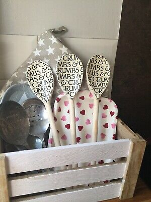Emma Bridgewater Themed Set Of 3 Utensils - Black Toast