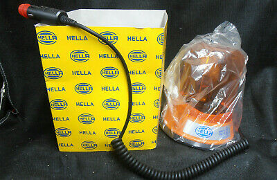 Genuine Hella Magnetic Rotating warning Beacon 2rl 502 l00 01 Recovery,  Plant