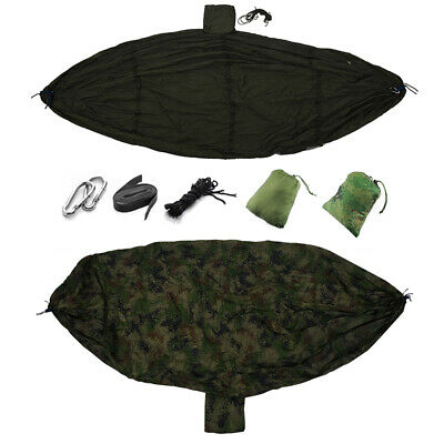 Double Person Travel Outdoor Camping Tent Hanging Hammock Bed & Mosquito Ne Q9B1