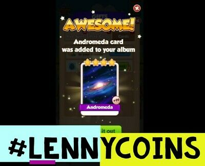 Andromeda Coin Master Card. 100% Customer Satisfaction.Fast Delivery!