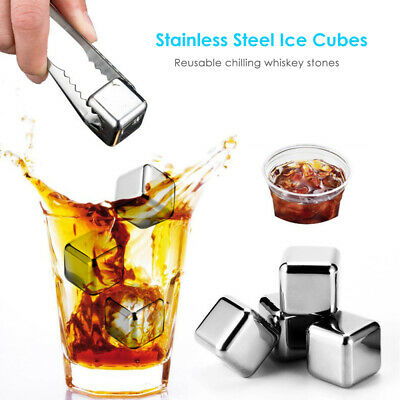 Whiskey Stones Bar Whisky Chilling Cooling Rocks Reusable Stone Ice Cubes C7Q9