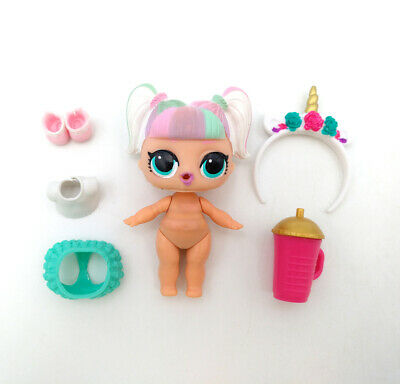 LOL Surprise Doll Figure Wave 2 Confetti Pop UNICORN Series 3-012 Color Change