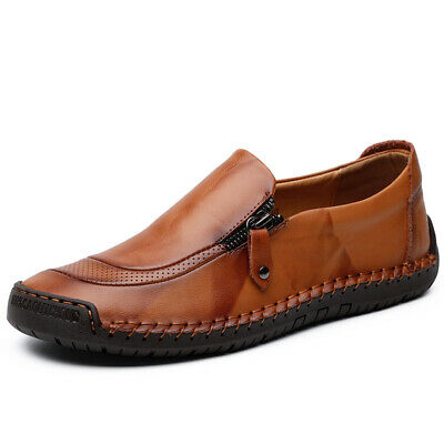 f0c4d34bf1d05c Men's Soft Driving Moccasins Casual Shoes Flats Slip On Loafers Big Size