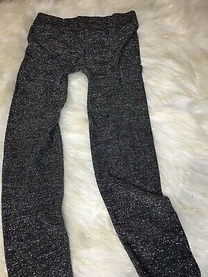 Piper Girls Pants Leggings Size L/G (10/12) Gray Metallic #5