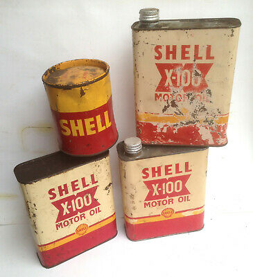 lot bidons SHELL