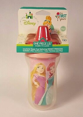 Disney The First Years Insulated Sippy Cup 9 oz. 9m+ with Disney Princesses