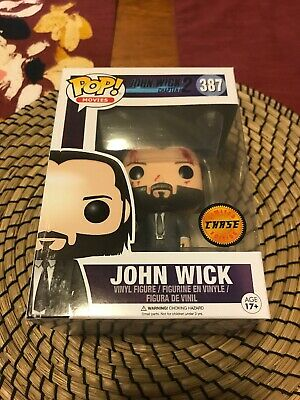 Funko Pop! Movies #387: John Wick Chapter 2 Bloody Chase NOT MINT