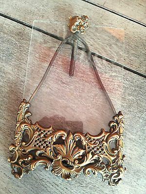 Superb Rare Antique French Frame for picture brass Louis XV n°4 lion