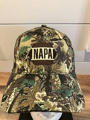 NAPA Auto Parts Camouflage Outdoors Rare Employee Hat
