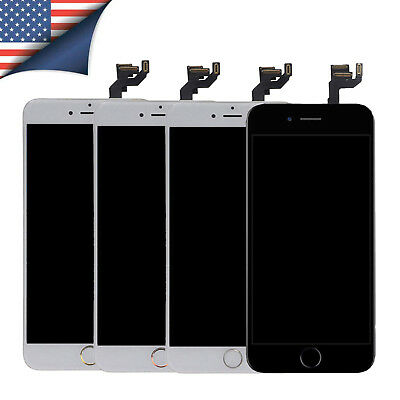 Original iPhone 7 6 6s Plus LCD Display Touch Screen Assembly+Home Button+Camera