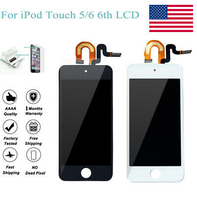 LCD Display Touch Screen Digitizer Assembly For iPod Touch 5 5th Gen Replacement