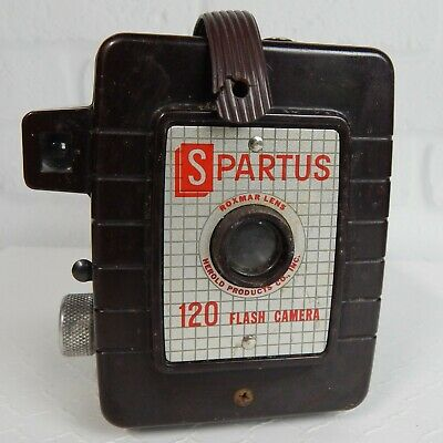 Vintage Herold Products Spartus 120 Flash Box Camera Office Home Decor