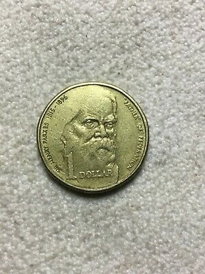 1996 $1 Sir Henry Parkes - Father Of Federation - Circulated - 1 Dollar Coin
