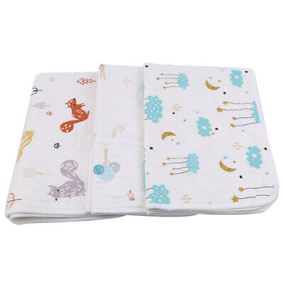 Waterproof Changing Diaper Pad Cotton Washable Baby Newborn Urine Mat Anti-pad