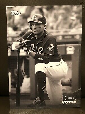 2019 Topps On Demand Black and White Joey Votto Card: Cincinnati Reds