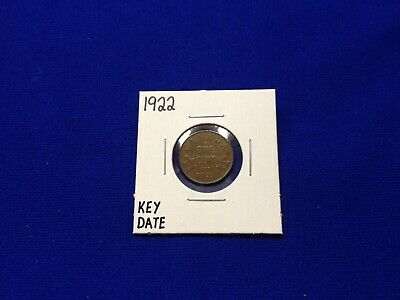 Rare 1922 Canada Small Cent Coin - Key Date! - Lot B-4
