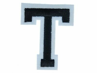 Letters Initials Alphabet Abc Iron-On Patch Patch Miniblings 5cm Letter T