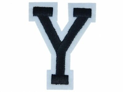 Letters Initials Alphabet Abc Iron-On Patch Patch Miniblings 5cm Letter