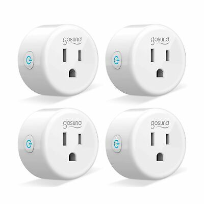 Smart Plug Gosund Wifi Smart Outlet Works with Alexa Google Home and IFTTT, 2...