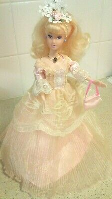 Barbie Doll Clothes -Pink, Ball Outfit w/ dress,shoes,bag, jewellery, Hat