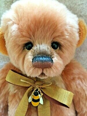 Charlie Bear Farley Isabelle Lee 2018 Isabelle Mohair Alpaca Collection Low N1