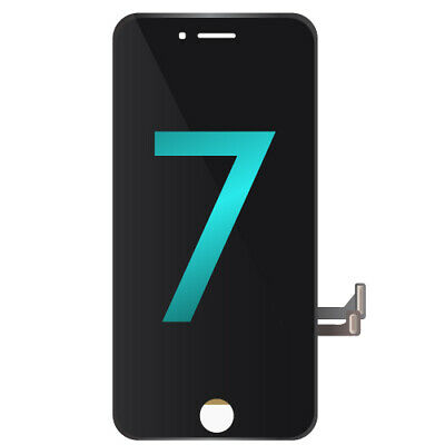 "LCD Assembly Touch Screen Display Replacement for Apple iPhone 7 4.7"" - Black"